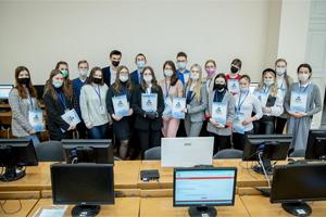 Школьники Приангарья приняли участие в финале «Софиума»